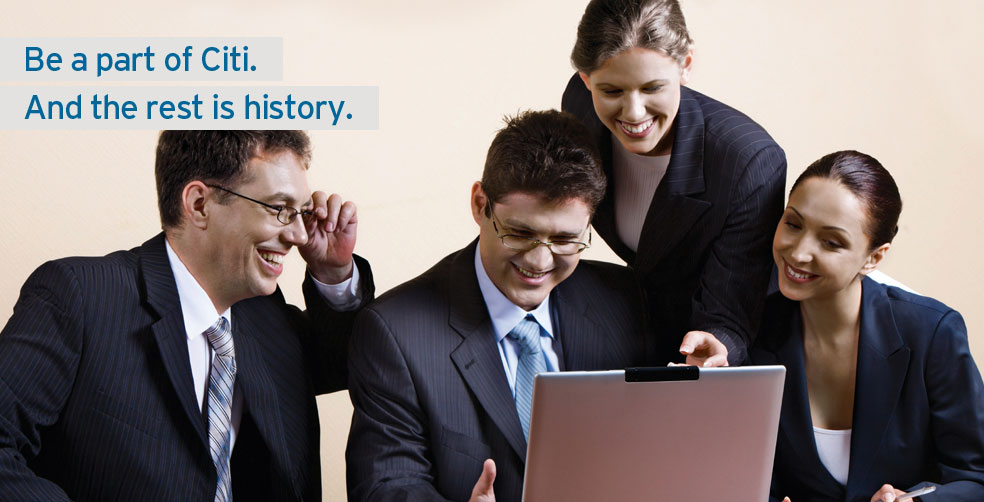 Career Home | Citibank India