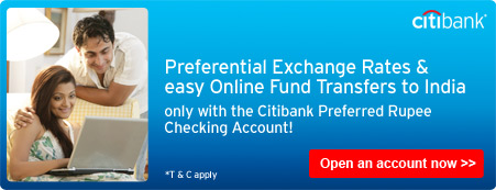Apply for Preferred Rupee Checking Account