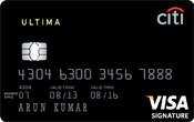 Citibank Ultima Credit Card