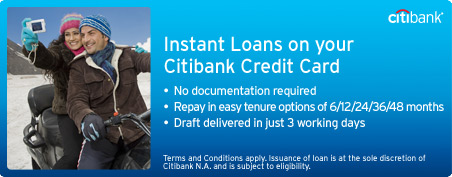 citibank personal loan application tracking india