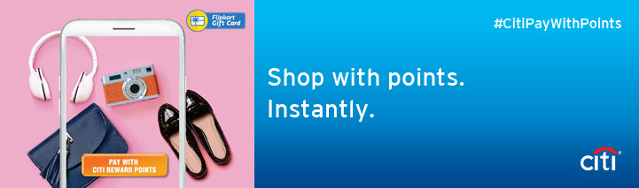 Shop with points. Instantly