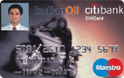 Indianoil Citibank Atm / Debit Card