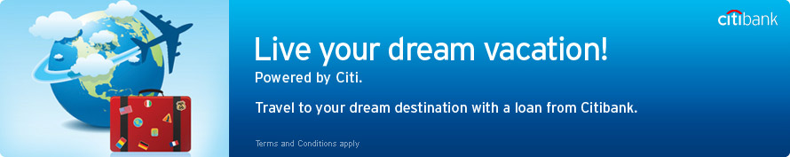 Live your dream vacation!