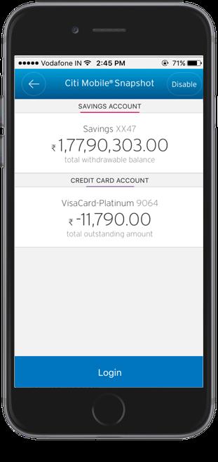 Citibank Secure Login >> Citi India | Citi Mobile App